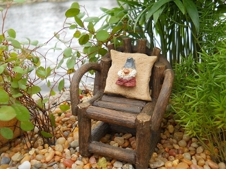 Our Products Gnome Pillow For Fairy Garden Chair