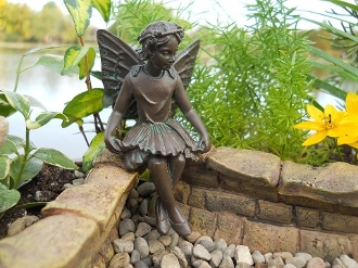 Evelyn Mae The  Bronzed Fairy