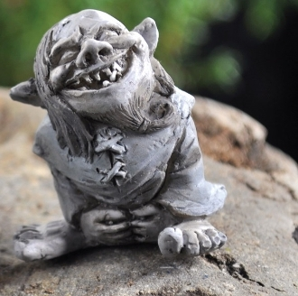 Toader the Troll for Fairy Garden