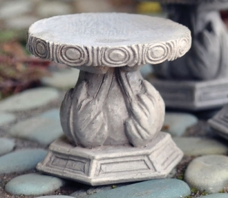 Stone Stool - Set of Two for Fairy Garden