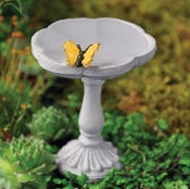 Butterfly Birdbath for Fairy Gardens