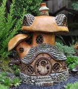 Mushroom Tavern for Fairy Garden