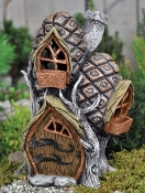 Pine Cone Town Home for Fairy Garden