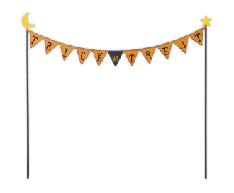 Trick or Treat Party Flags