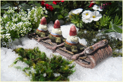 Toboggan for your Fairy Garden