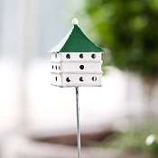 Martin Birdhouse For Miniature Fairy Gardens