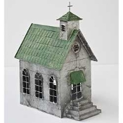 Country Church For Miniature Fairy Gardens