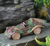 Woodland Car For Your Miniature Fairy Garden