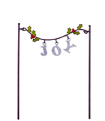 JOY Holly Garland for Miniature Fairy Garden