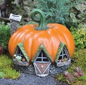 Pumpkin House For Miniature Fairy Garden
