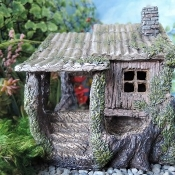 Hemloft House for Miniature Fairy Gardens