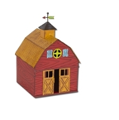 Barn by Gypsy Garden for Miniature Fairy Gardening