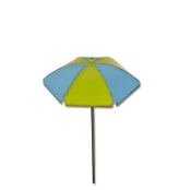 Chaise Umbrella by Gypsy Garden for Miniature Fairy Gardening