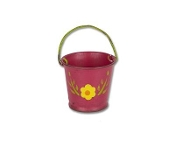 Flower Bucket by Gypsy Garden for Miniature Fairy Gardening