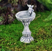Fairy Birdbath for Miniature Fairy Gardens