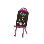 Sale - ENJOY THE LITTLE THINGS Sign for Miniature Fairy Gypsy