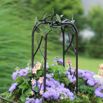 Flower Arbor for Miniature Fairy Gardens