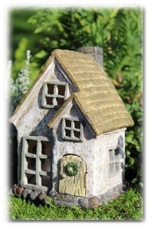 Misty Meadow Mini Home for Miniature Fairy Gardens