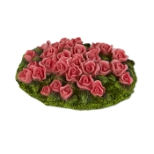 Rose Flowerbed for Merriment Mini Fairy Gardening