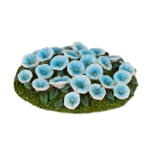 Petunia Flowerbed for Merriment Mini Fairy Gardening