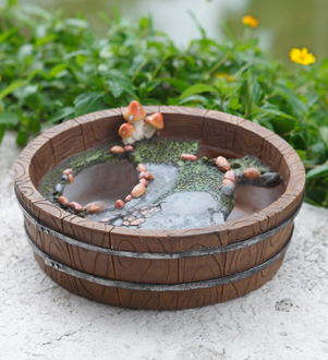 "12"" Fairy Garden Base - Just add Moss and Plants!"