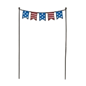 Sale - Patriotic Flags for Miniature Fairy Gardens