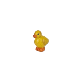 Yellow Baby Duck for Miniature Fairy Gardens