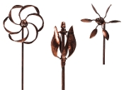 Set 3/Kinetic Metal Fairy Garden Landscape Decor - EXCLUSIVE