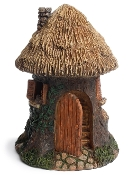 Round Trunk House For Miniature Fairy Gardens