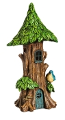 "13"" Lighted Treetop House for Miniature Gardens - EXCLUSIVE"