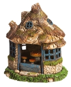Village Gazebo (Lighted) for Miniature Gardens - EXCLUSIVE