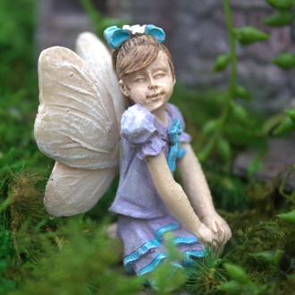 MacKenzie the Fairy for Miniature Fairy Gardens