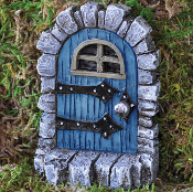 Medevil Fairy Door for Miniature Fairy Gardens