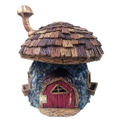 "11.5"" Shingleton Fairy House for Miniature Fairy Gardens"