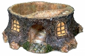 Stump Based Garden Planter For Miniature Fairy Gardens