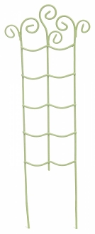 Green Metal Trellis for Miniature Fairy Gardens