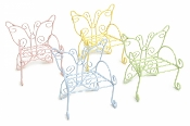 Set/4 Colorful Butterfly Chairs for Miniature Fairy Gardens