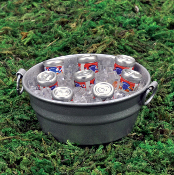 Tub of Beer on Ice for Miniature Fairy Gardens