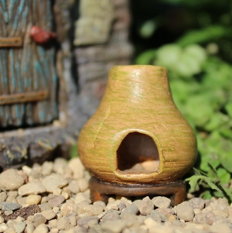 Chimnea Firepit for Miniature Fairy Gardens