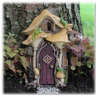 Leap Frog Fairy Door For Miniature Gardens