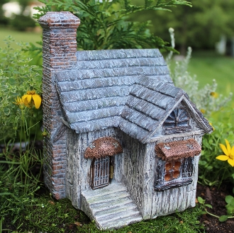 Nature's Haven Fairy House For Miniature Gardens