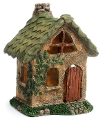 Leaf Fairy House For Miniature Gardens