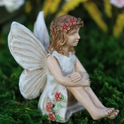 Caroline the Fairy For Miniature Gardens
