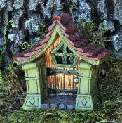 Copper Fairy Door For Miniature Fairy Gardens
