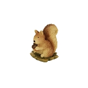 Squirrel for Merriment Mini Fairy Gardening