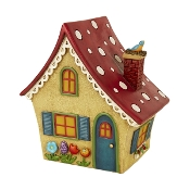 Lighted Solar Fairy Cottage for Merriment Mini Fairy Gardening