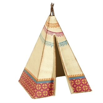 Metal Tee Pee/Tent for Miniature Gypsy Fairy Gardens