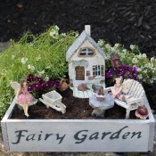 Lets Build It Fairy Garden Kit