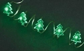 25 Miniature Christmas  Rice Lights  for Miniature Fairy Gardens