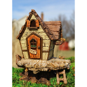 Wendy's Fairy Fort with Ladder for Miniature Fairy Gardens